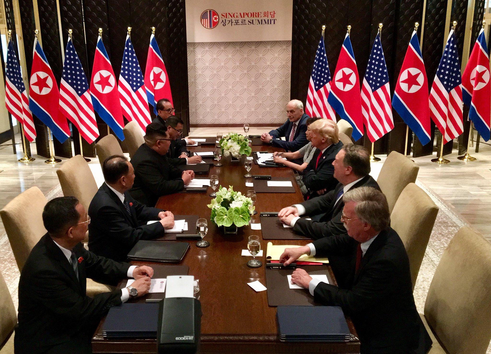 Corée du Nord Amérique