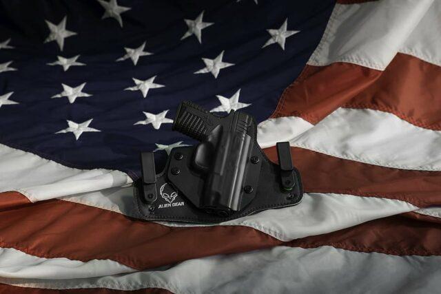 Américains armes
