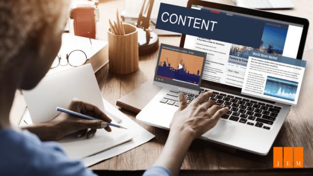 création de contenu pour les réseaux sociaux